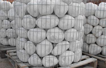 Bolo mármol blanco Macael (jaula)