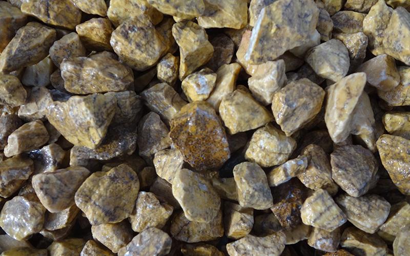triturado marmol amarillo