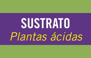 Sustrato plantas ácidas